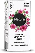 """Духи, Парфюмерия, косметика Ночной крем для лица """"Мальва"""" - Lirene Natura Eco Cream"""