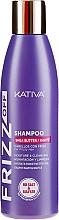 Духи, Парфюмерия, косметика Увлажняющий шампунь для волос - Kativa Frizz Off Shampoo