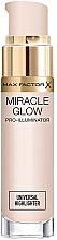 Духи, Парфюмерия, косметика Универсальный хайлайтер - Max Factor Miracle Glow Pro Illuminator Highlighter