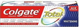 Духи, Парфюмерия, косметика Зубная паста - Colgate Total Whitening Toothpaste New Technology