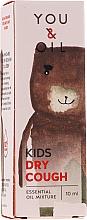 Духи, Парфюмерия, косметика Смесь эфирных масел для детей - You & Oil KI Kids-Dry Cough Essential Oil Blend For Kids