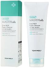Духи, Парфюмерия, косметика Пенка для умывания - Tony Moly Derma Master Lab Cica Mild Foam Cleanser