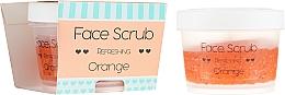 """Духи, Парфюмерия, косметика Скраб для лица и губ """"Апельсин"""" - Nacomi Refreshing Face Orange"""
