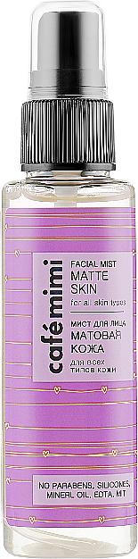 "Мист для лица ""Матовая кожа"" - Cafe Mimi Facial Mist Matte Skin — фото N1"