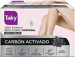 Духи, Парфюмерия, косметика Воск для депиляции тела с активированным углем - Taky Activated Carbon Body Depilatory Wax