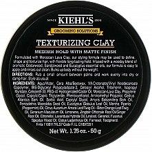 Духи, Парфюмерия, косметика Мужская текстурирующая глина для укладки - Kiehl`s Grooming Solutions Texturizing Clay