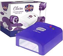 Духи, Парфюмерия, косметика Лампа для ногтей UV, синяя - Ronney Profesional Clara UV 36W (GY-UV-818) Lamp