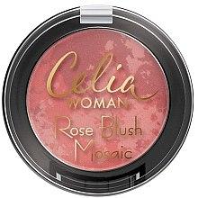 Духи, Парфюмерия, косметика Румяна для лица - Celia Woman Rose Blush Mosaic