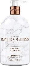 Духи, Парфюмерия, косметика Жидкое мыло для рук - Baylis & Harding White Tea & Vitamin E Hand Wash