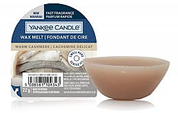 Духи, Парфюмерия, косметика Ароматический воск - Yankee Candle Wax Melt Warm Cashmere