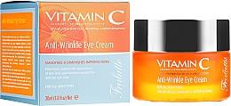 Духи, Парфюмерия, косметика Крем для век, против морщин - Frulatte Vitamin C Anti-Wrinkle Eye Cream