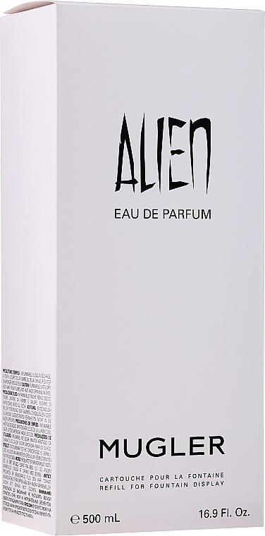Mugler Alien Refill For Fountain Display - Парфюмированная вода (запасной блок) — фото N2
