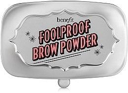 Духи, Парфюмерия, косметика Пудра для бровей - Benefit Foolproof Brow Powder