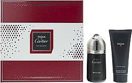 Духи, Парфюмерия, косметика Cartier Pasha de Cartier Edition Noire - Набор (edt/100ml + sh/gel/100ml)