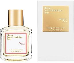 Духи, Парфюмерия, косметика Maison Francis Kurkdjian Amyris Femme - Парфюмированное масло для тела