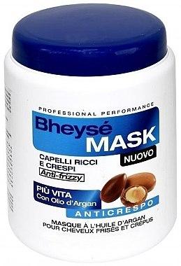 Маска с аргановым маслом для вьющихся волос - Renee Blanche Bheyse Maschera Capelli Ricci e Crespi — фото N3