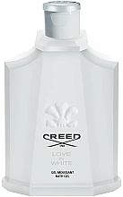 Духи, Парфюмерия, косметика Creed Love in White - Гель для душа