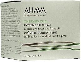 Духи, Парфюмерия, косметика Крем дневной разглаживающий и повышающий упругость кожи - Ahava Extreme Day Cream