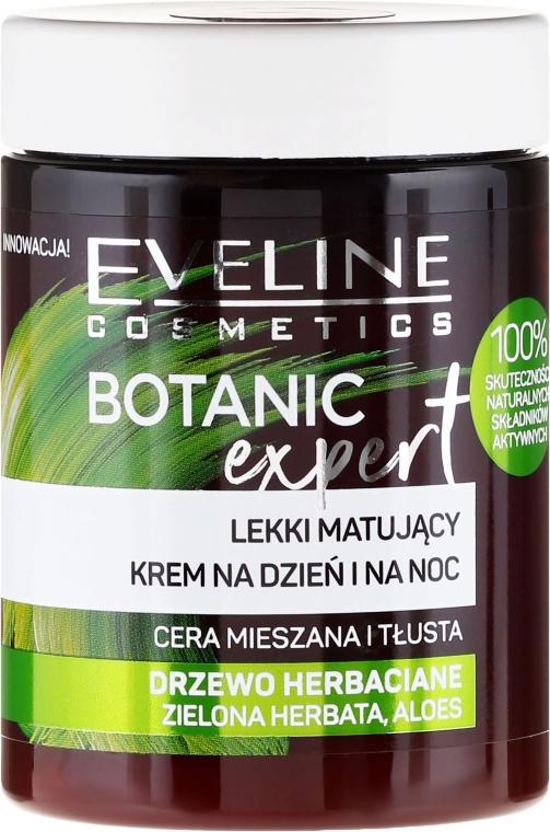 Крем для лица - Eveline Cosmetics Botanic Expert With Tea Tree Day & Night Cream — фото N1