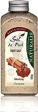 Духи, Парфюмерия, косметика Солевая ванночка для ног - Naturalis Sep de Pied Cinnamon Foot Salt