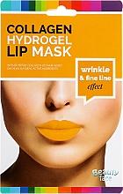 Духи, Парфюмерия, косметика Коллагеновая гидрогелевая маска для губ - Beauty Face Collagen Hydrogel Lip Mask Wrinkle Smooth Effect