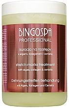 Духи, Парфюмерия, косметика Гелевое обертывание против растяжек с водорослями и коллагеном - BingoSpa
