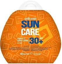 Духи, Парфюмерия, косметика Солнцезащитный водостойкий крем для лица и тела SPF30+ - Cafe Mimi Sun Care