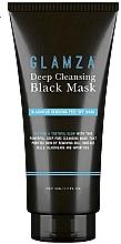 Духи, Парфюмерия, косметика Очищающая маска для лица - Glamza Deep Cleaning Black Face Mask