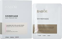 Духи, Парфюмерия, косметика Биоцеллюлозная маска для чувствительной кожи - Babor Skinovage Calming Bio-Cellulose Mask