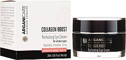 Духи, Парфюмерия, косметика Крем для области вокруг глаз против морщин - Arganicare Collagen Boost Perfecting Eye Cream