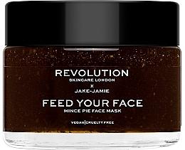 Духи, Парфюмерия, косметика Увлажняющая маска для лица - Revolution Skincare X Jake Jamie Mince Pie Face Mask