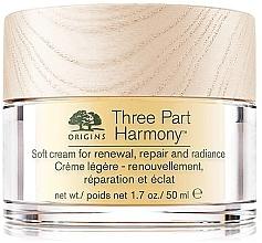 Духи, Парфюмерия, косметика Восстанавливающий крем для лица - Origins Three Part Harmony Soft Cream
