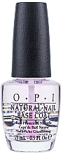 Базовое покрытие для натуральных ногтей - O.P.I Natural Nail Base Coat — фото N1