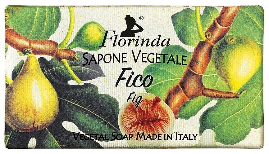 """Мыло натуральное """"Инжир"""" - Florinda Fig Natural Soap — фото N1"""