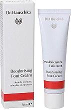 Духи, Парфюмерия, косметика Дезодорирующий крем для ног - Dr. Hauschka Deodorizing Foot Cream