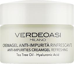 Духи, Парфюмерия, косметика Освежающий крем-гель от загрязнений кожи - Verdeoasi Anti-Impurities Creamgel Refreshing