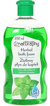 "Пена для ванны ""Мелиса"" - Bluxcosmetics Naturaphy Herbal Bath Foam — фото N1"