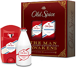 Духи, Парфюмерия, косметика Набор - Old Spice Whitewater Vintage (deo/50ml + ash/lot/100ml)