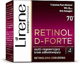 Духи, Парфюмерия, косметика Ночной крем-лифтинг для лица - Lirene Retinol D-Forte Face Cream 70+