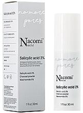 Духи, Парфюмерия, косметика Сыворотка для лица с 2% салициловой кислотой - Nacomi Next Level Salicylic Acid 2%