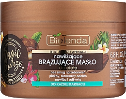 Духи, Парфюмерия, косметика Бронзирующее масло для тела - Bielenda Magic Bronze Moisturizing Bronzing Body Butter