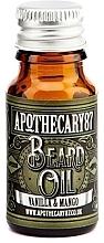 Духи, Парфюмерия, косметика Масло для бороды - Apothecary 87 Vanilla & Mango Beard Oil