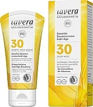 Духи, Парфюмерия, косметика Солнцезащитный крем для лица - Lavera Sensitive Sun Cream Anti-Age SPF 30
