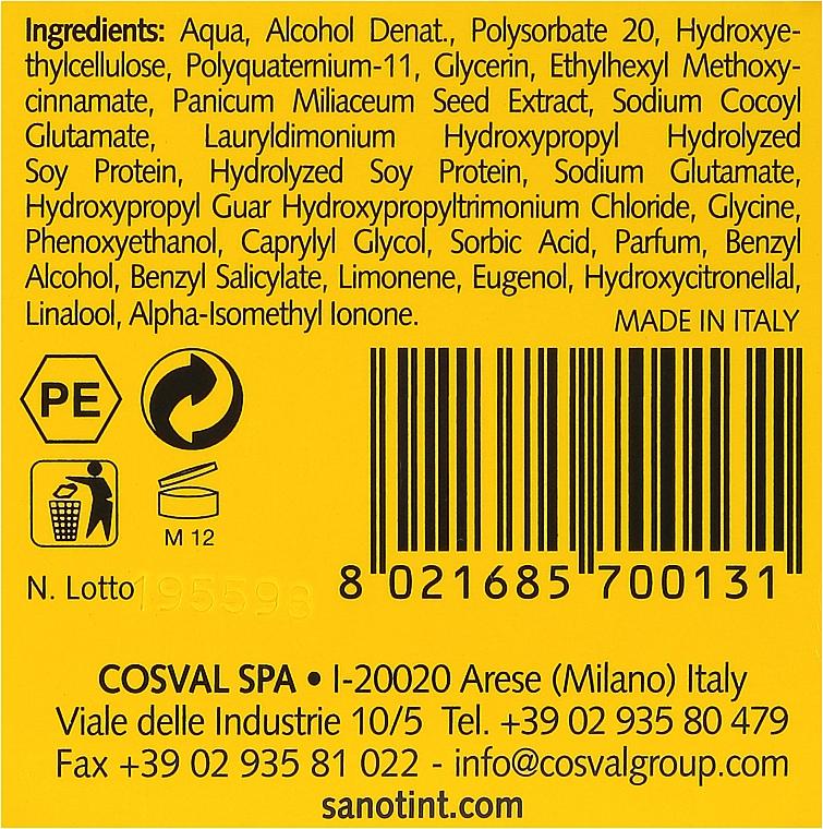 Обезжиреное восстанавливающее масло для волос - Sanotint Oil Non Oil — фото N3