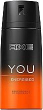Духи, Парфюмерия, косметика Дезодорант-спрей - Axe You Energised Deodorant Spray