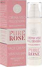 Крем для чувствительной кожи - Erbario Toscano Pure Rose 3r Biocomplex Cream — фото N1