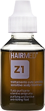 Духи, Парфюмерия, косметика Очищающий и смягчающий флюид от зуда для кожи головы - Hairmed Z1 Purifying And Lenitive Anti-Itching Fluid