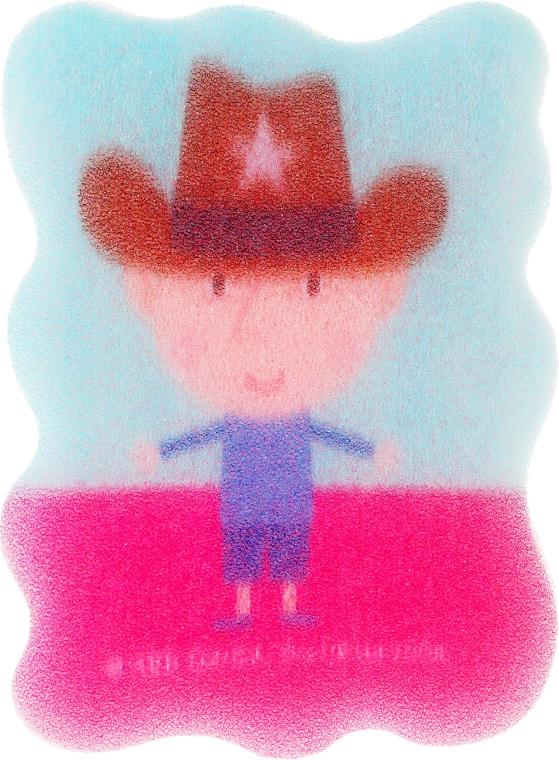 """Мочалка детская """"Бен и Холли"""", Бен, шериф - Suavipiel Ben & Holly — фото N1"""
