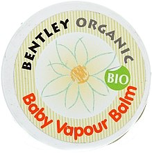 Духи, Парфюмерия, косметика Согревающий детский бальзам Вапур - Bentley Organic Baby Vapour Balm