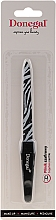Духи, Парфюмерия, косметика Пилочка двусторонняя сапфирная 2022, с узором, 15 см, зебра - Donegal